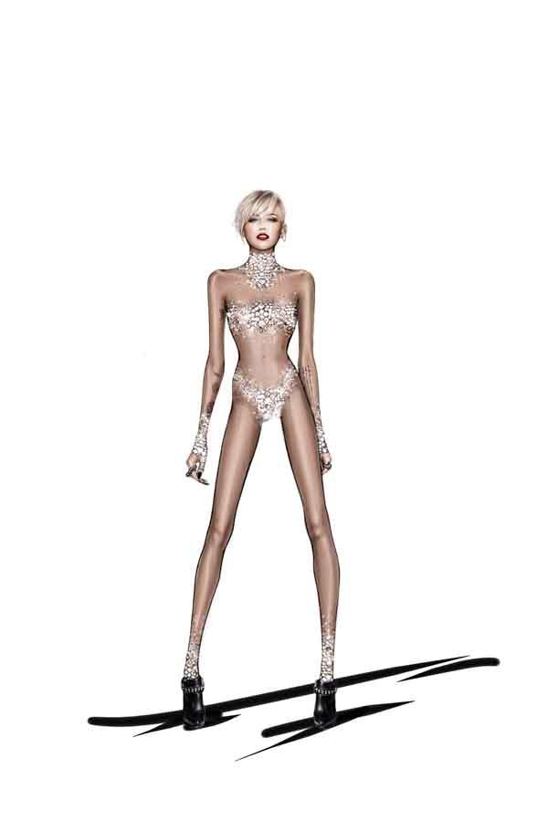 roberto cavalli miley cyrus vogue 5 20jan14 pr b Roberto Cavalli i Miley Cyrus rade na novom projektu