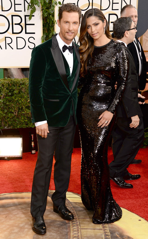 rs 634x1024 140112165652 634.matthew mcconaughey camila golden globes 011214 Fashion Police: Golden Globes 2014