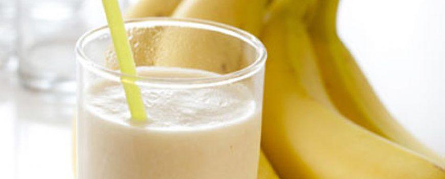 Preukusan smoothie od banane
