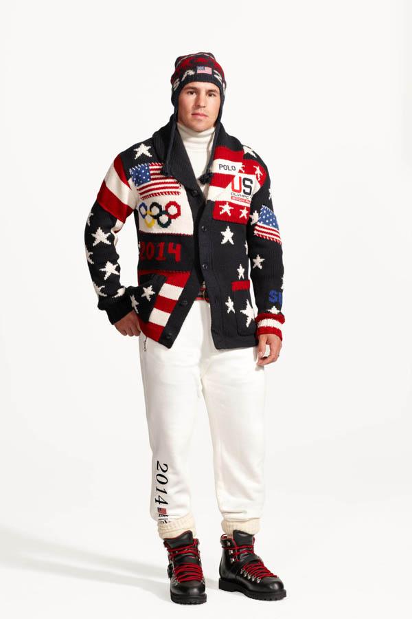 zach parise Ralph Lauren: Uniforme za Zimske olimpijske igre