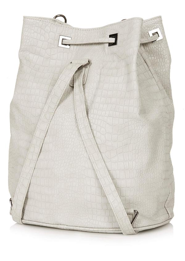04 topshop ruksak Vrećasti ruksak za prolećne dane