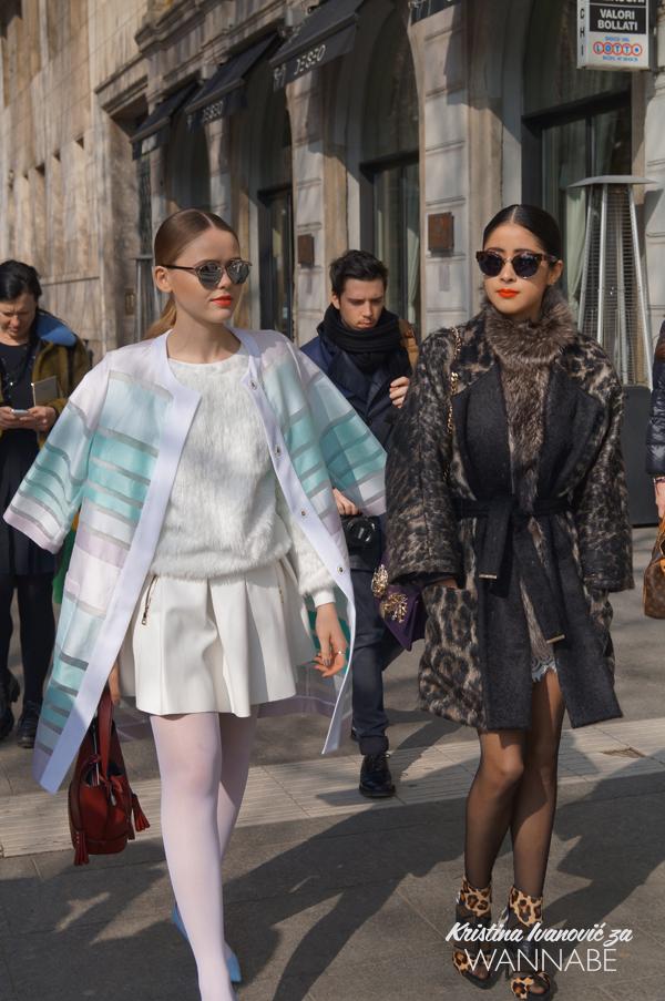 040 Street Style Milan Fashion Week: Svi ti kaputi