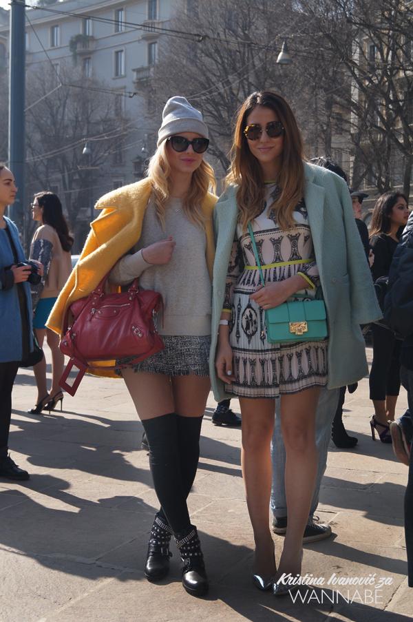 045 Street Style Milan Fashion Week: Svi ti kaputi