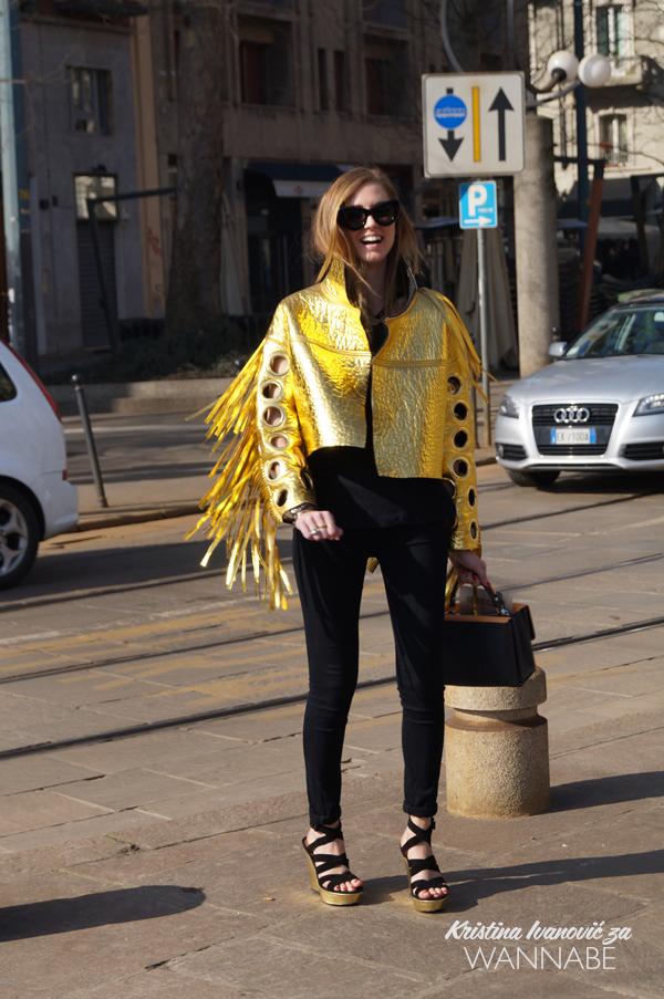 046 Street Style Milan Fashion Week: Svi ti kaputi