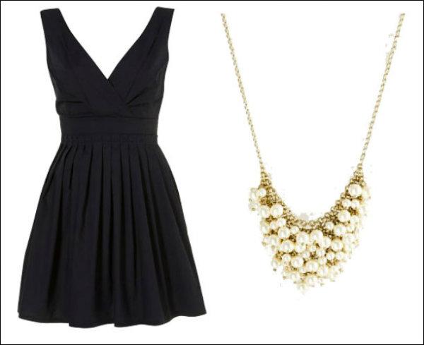 10 Modern LBDPearl Combinations 2 Mala crna haljina i biseri