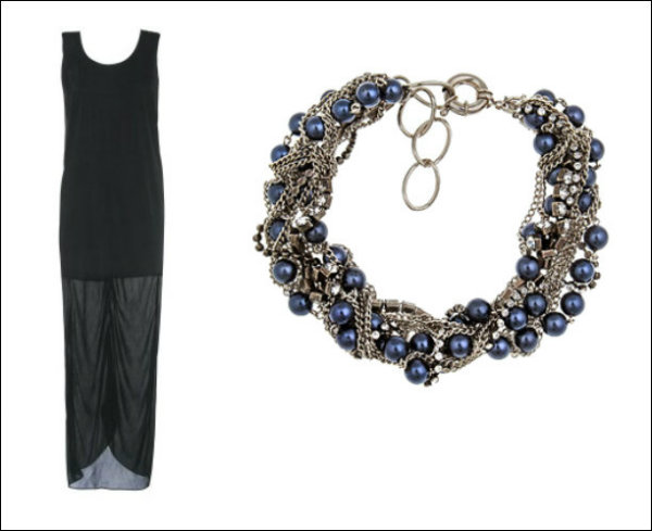 10 Modern LBDPearl Combinations 3 Mala crna haljina i biseri