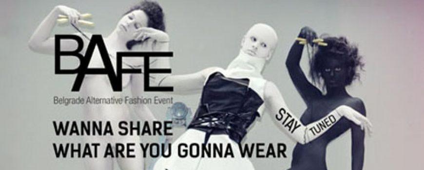 BAFE raspisuje konkurs za mlade modne dizajnere