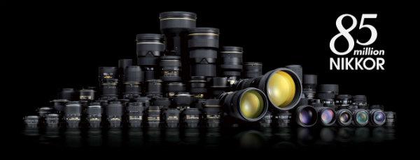 85 miliona 85 miliona od NIKKOR objektiva za fotoaparate sa zamenljivim objektivima