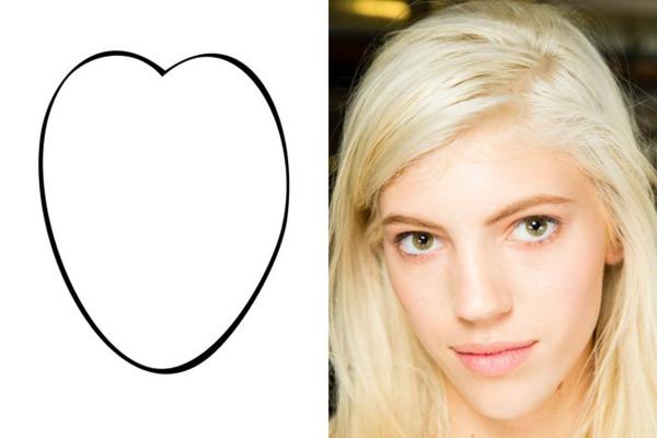 938977 1 l Idealne frizure: Srcoliki oblik lica