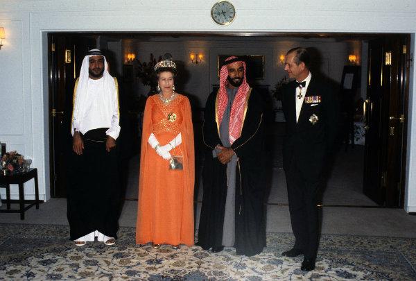 Abu Dhabi Putovanja kraljevske porodice