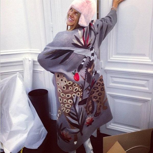 Anna Dello Russo Šta modni svet radi na Instagramu