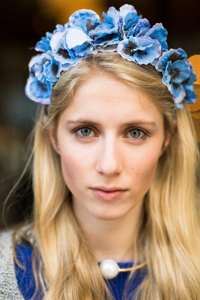 Beauty Street Style Fall 2014 1 Paris Fashion Week: Beauty inspiracija