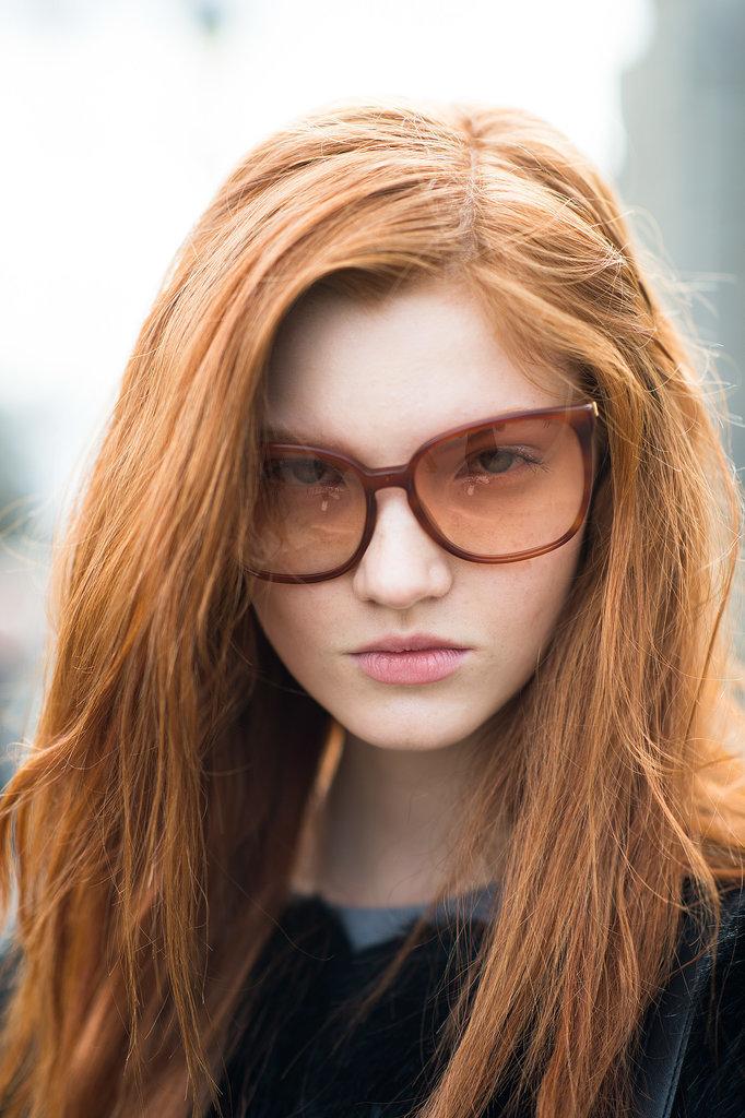 Beauty Street Style Fall 2014 3 Paris Fashion Week: Beauty inspiracija