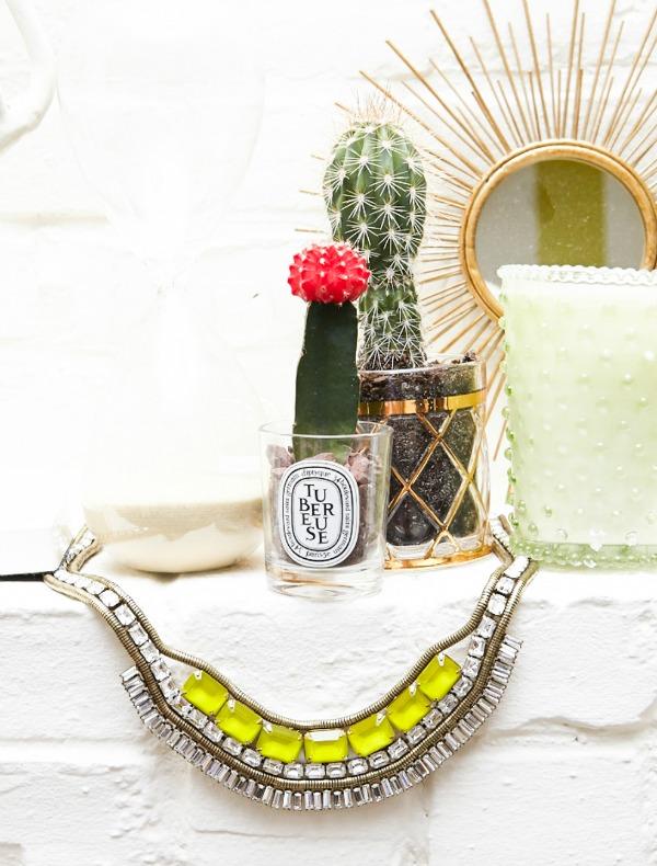 Bler Edie kaktusi  Zavodljiv enterijer doma poznate blogerke: Bler Edi