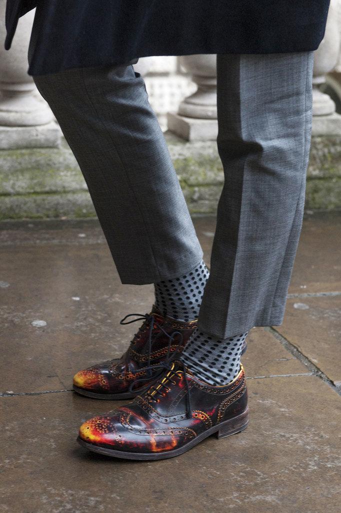 Brogues arent always preppy Street Style: London i detalji