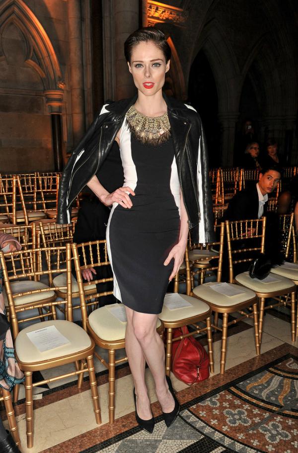 Coco London Fashion Week: Poznati u prvom redu