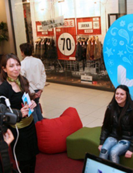 Foto konkurs i pokloni za zaljubljene u UŠĆE Shopping Centru