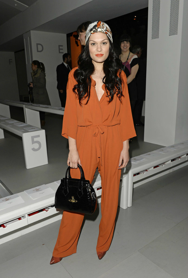 Dzesi London Fashion Week: Poznati u prvom redu