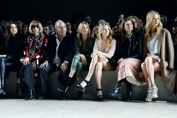 Ekipa London Fashion Week: Poznati u prvom redu