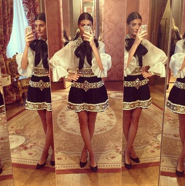 Giovanna Battaglia Šta modni svet radi na Instagramu