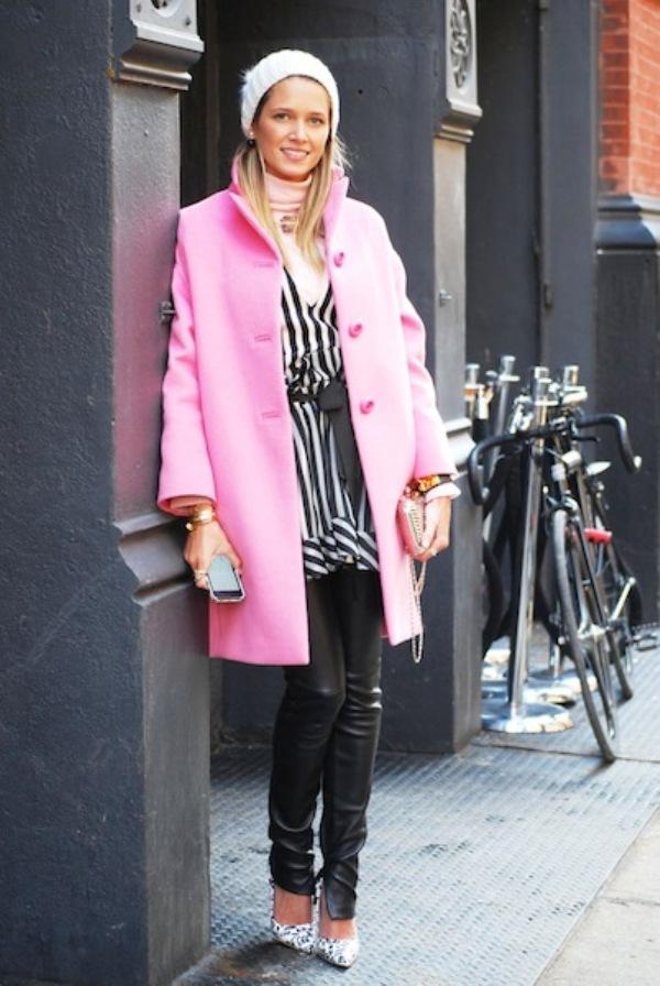 HELENA BORDON1 Street Style: New York Fashion Week
