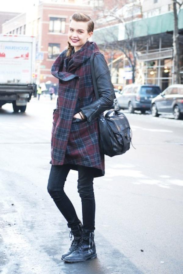 JOSEPHINE SKRIVER1 Street Style: New York Fashion Week