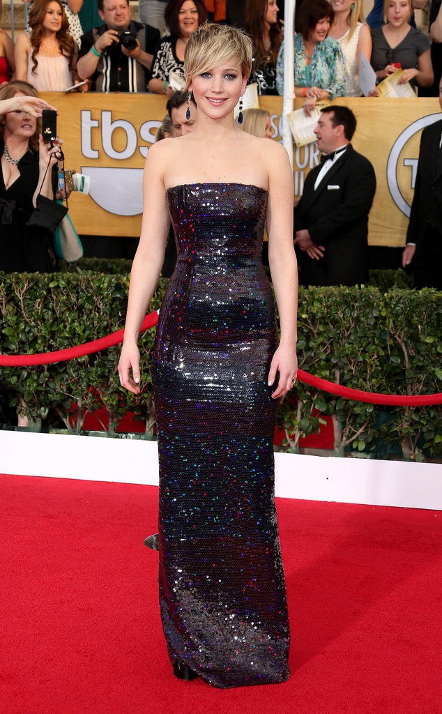 Jennifer Lawrence Screen Actors Guild Awards Dior na crvenom tepihu
