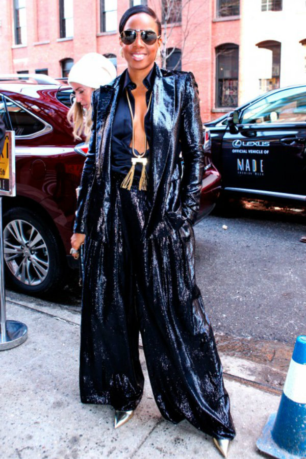 Kelly Rowland At New York Fashion Week SS14 Poznati na Nedelji mode u Njujorku