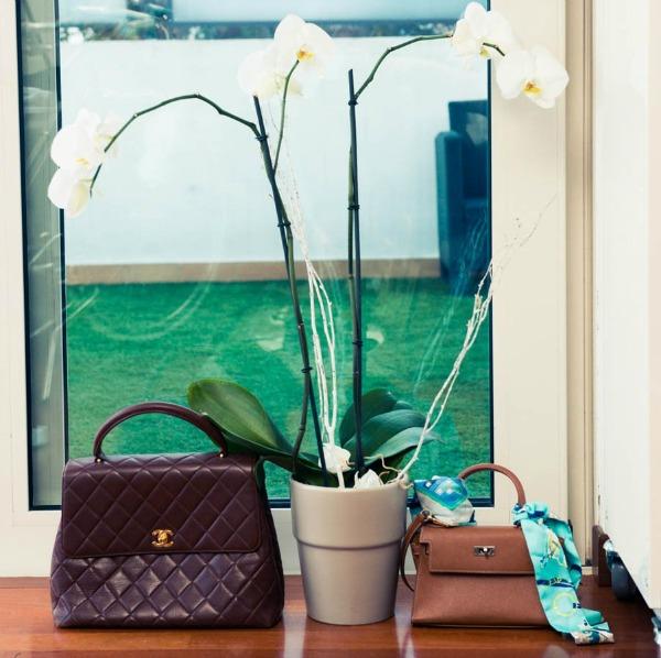 Kjara Feranji cvece i torbe  Zavodljiv enterijer doma poznate blogerke: Kjara Feranji