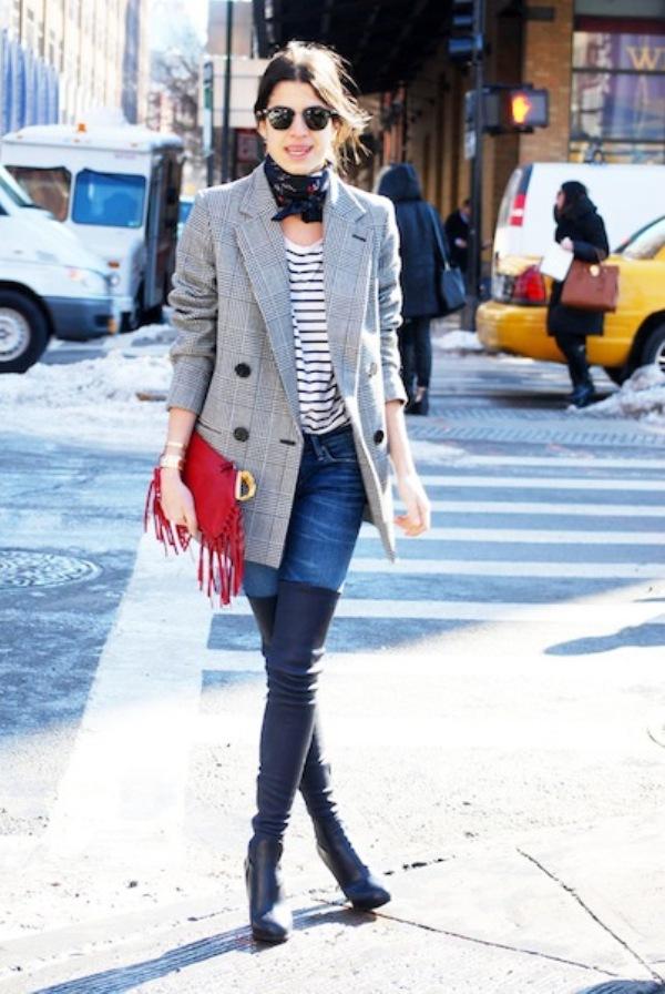 LEANDRA MEDINE1 Street Style: New York Fashion Week