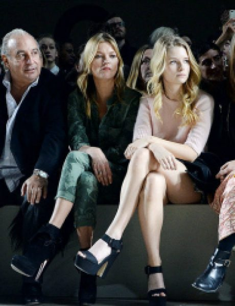 London Fashion Week: Poznati u prvom redu