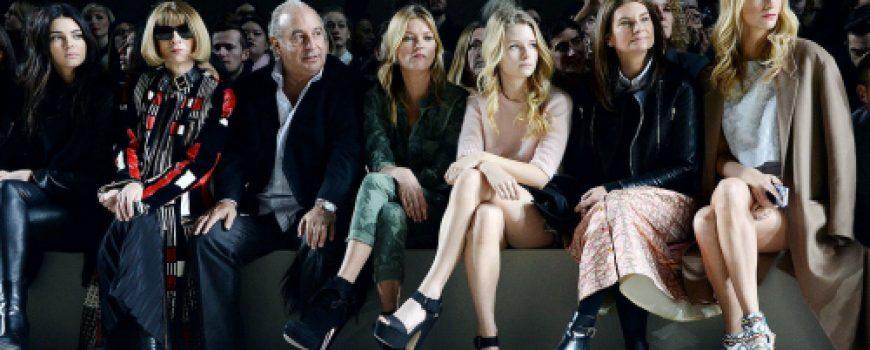 London Fashion Week: Poznati u prvom redu
