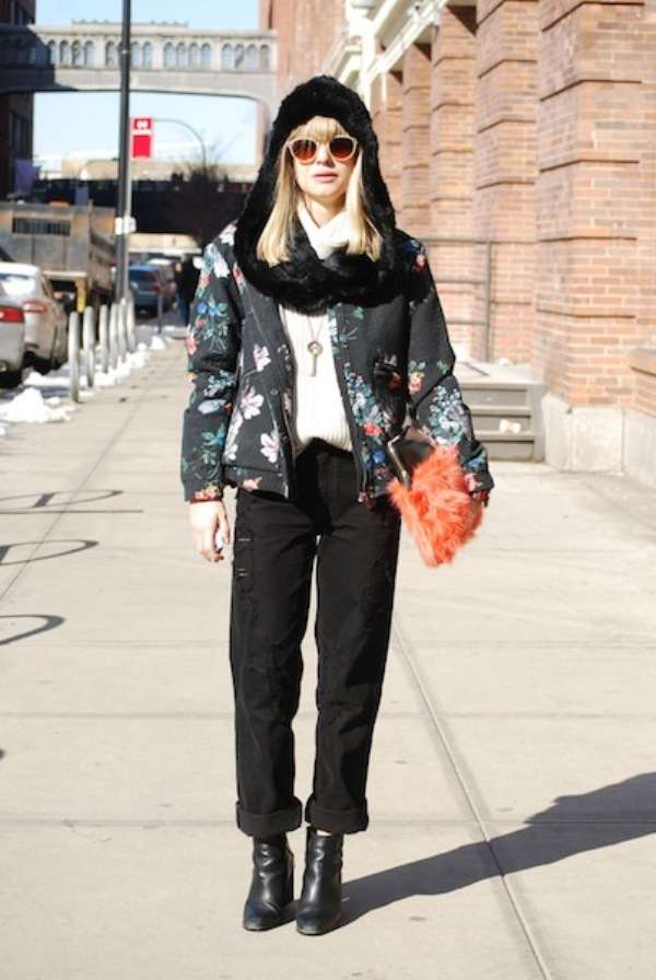 LISA DENGLER1 Street Style: New York Fashion Week