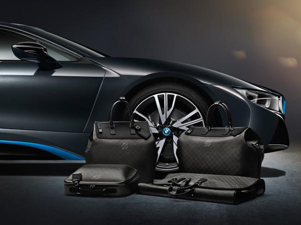 Louis Vuitton luggage for BMW i8 600x449 Louis Vuitton i BMW odličan su spoj