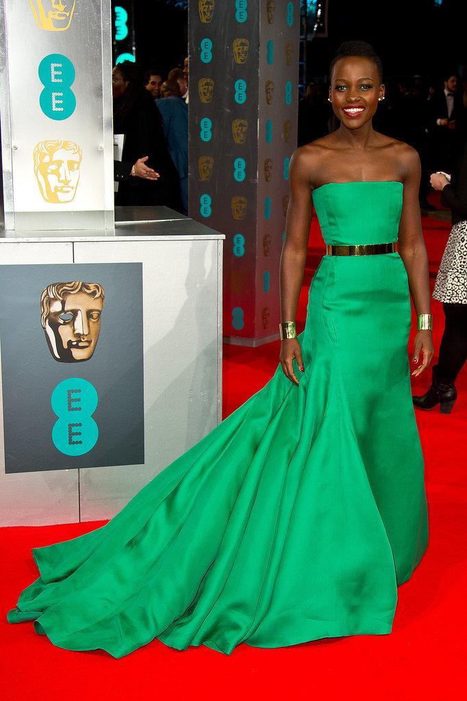 Lupita Nyongo BAFTA Awards Dior na crvenom tepihu