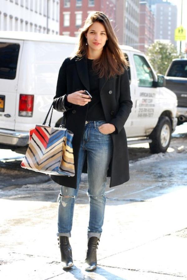 MARIA DUNAS JACOBS1 Street Style: New York Fashion Week