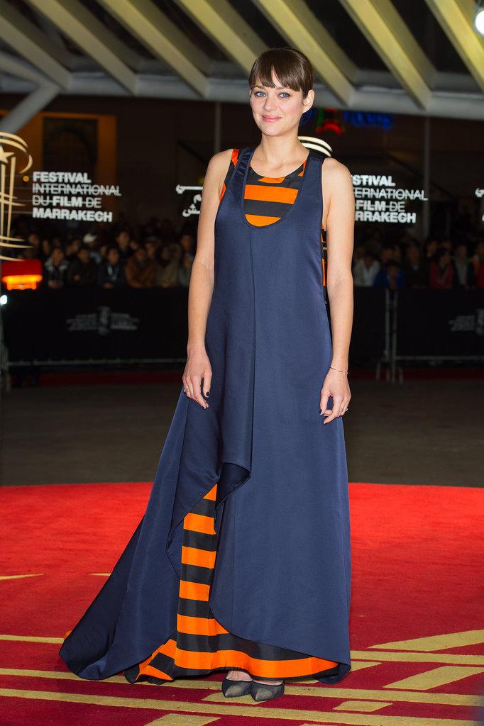 Marion Cotillard Marrakech Film Festival Dior na crvenom tepihu