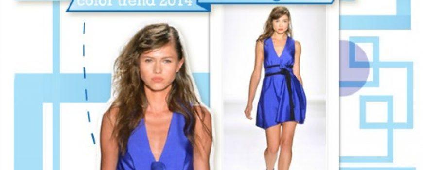 Fashion Color Report: Zaslepljujuća plava