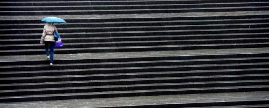 Postaje vruće: Stepenice zamenile teretanu