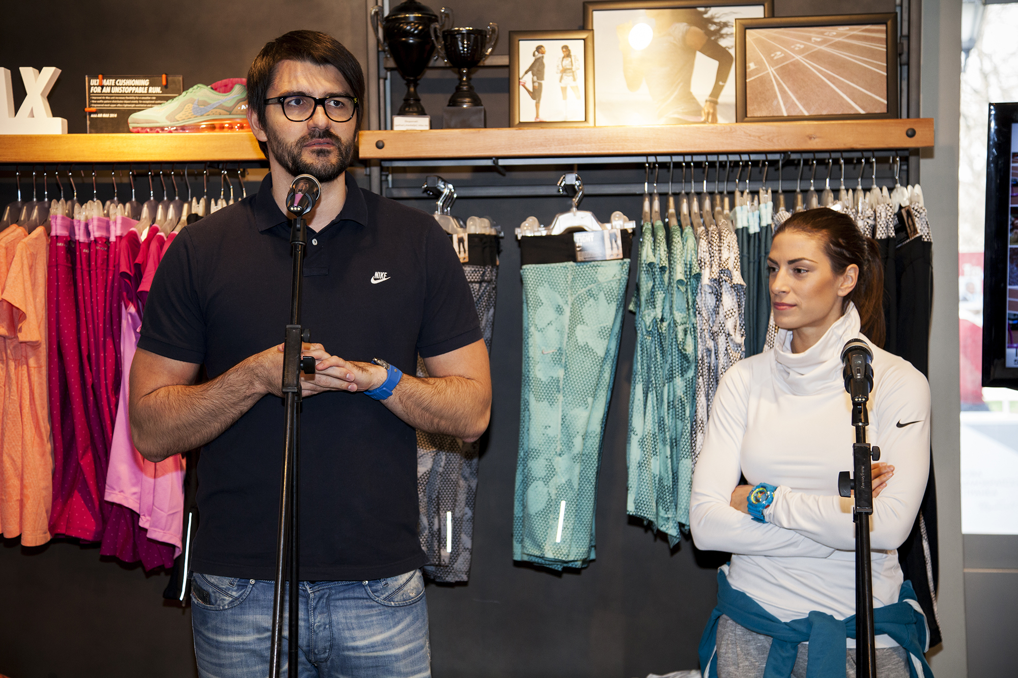 Nenad Mirkovic Nike brend menadzer i Ivana Spanovic Najlepše poruke za Ivanu Španović