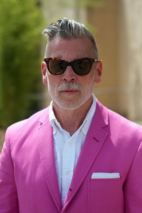 Nick Wooster Street Style zvezda: Nik Vuster
