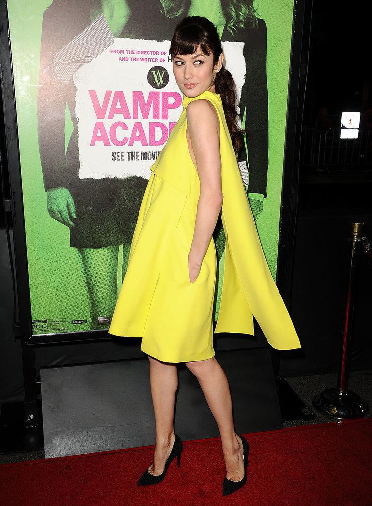Olga Kurylenko Vampire Academy Premiere Dior na crvenom tepihu