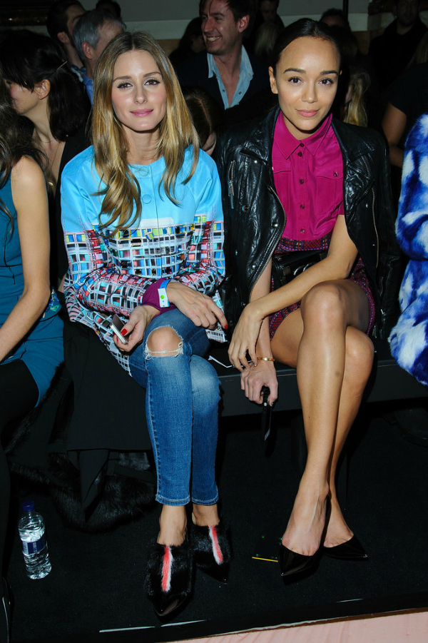 OlivijaEsli London Fashion Week: Poznati u prvom redu