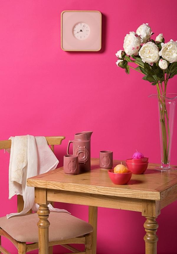 Pink Wall Moj enterijer: Šta to rade boje