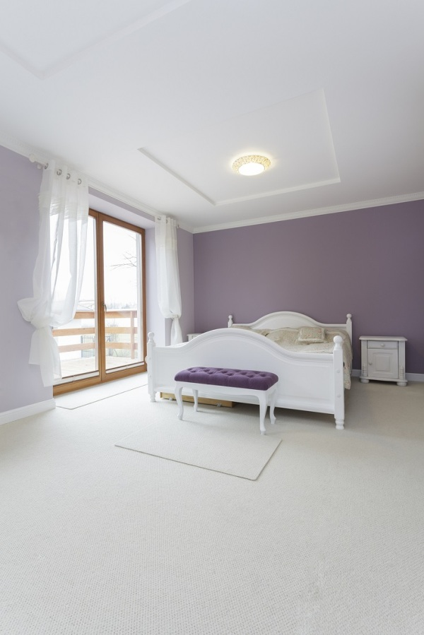 Purple Wall Moj enterijer: Šta to rade boje