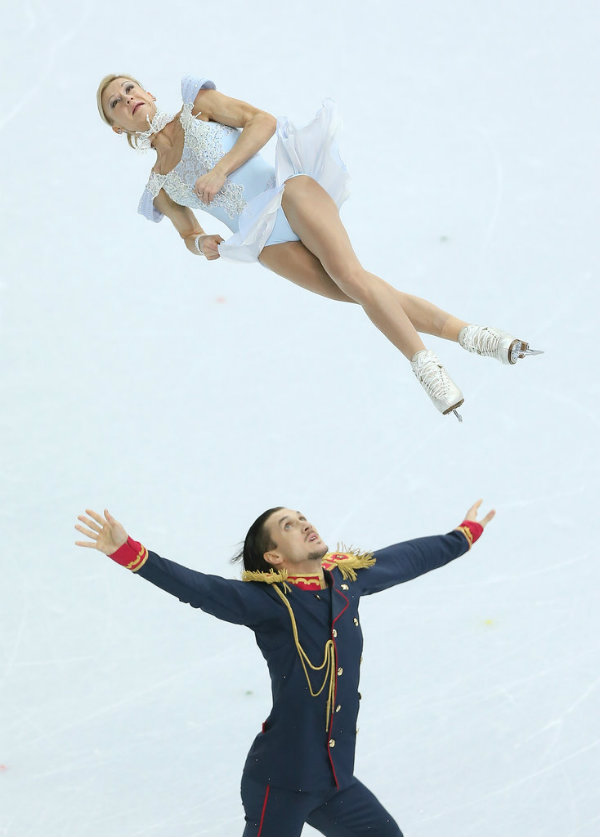 Russian Figure Skating Pair World Record 1 Najbolje umetničko klizanje svih vremena