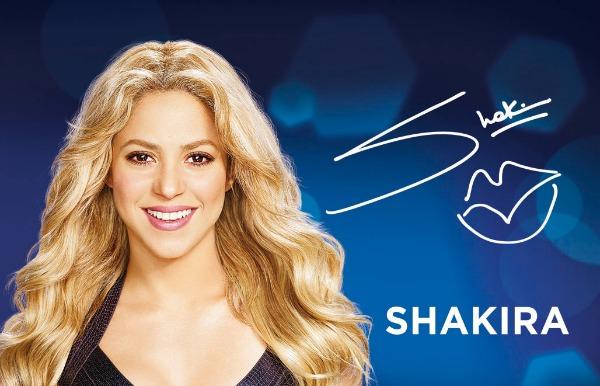 SLika 1 Šakira postala globalni ambasador brenda Oral B