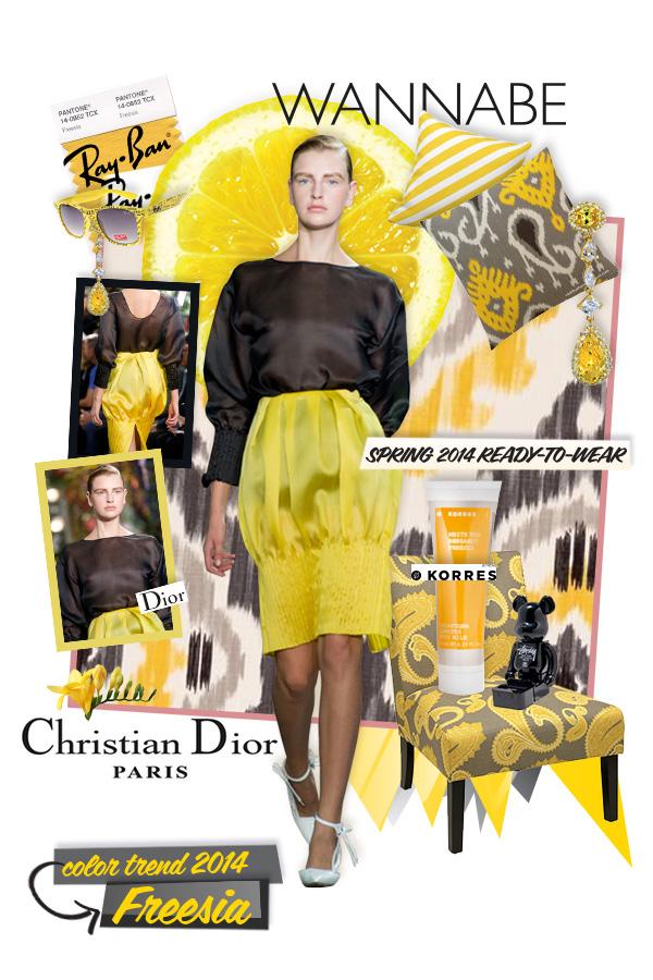 Slika 1 dior  Fashion Color Report: Božanstvena frezija