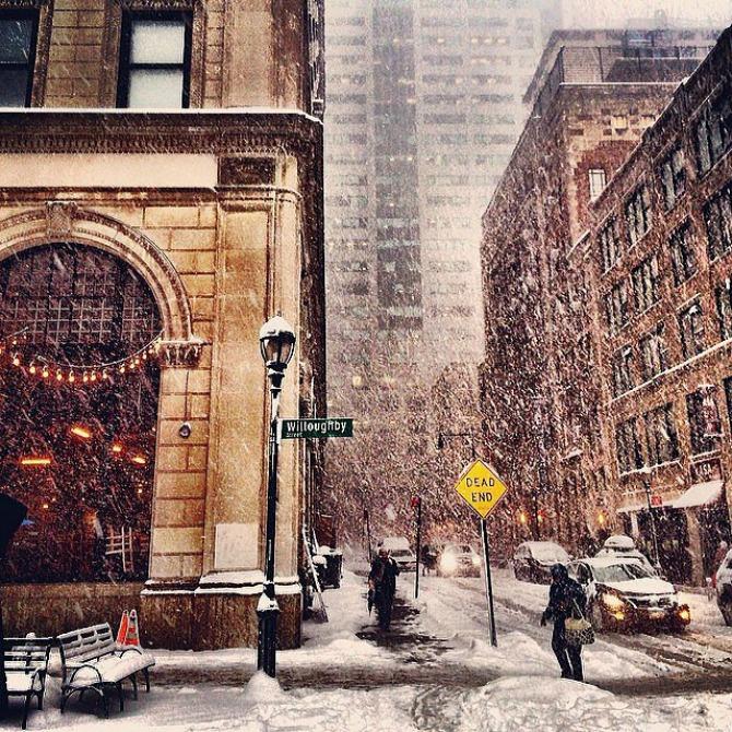Slika 102 Njujork: Veje, veje i ne planira da stane