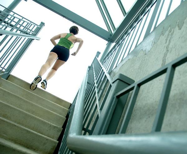 Slika 131 Postaje vruće: Stepenice zamenile teretanu